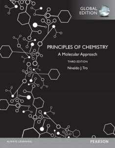 Principles of Chemistry A Molecular Approach, Global Edition [Paperback] Tro