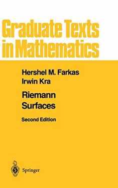 Riemann Surfaces (Graduate Texts in Mathematics (71))