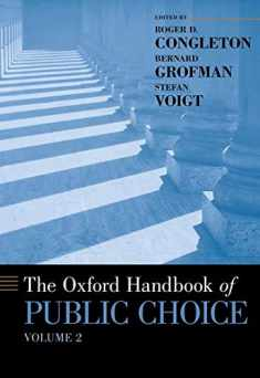 The Oxford Handbook of Public Choice, Volume 2 (Oxford Handbooks)