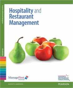 ManageFirst: Hospitality and Restaurant Management w/ Answer Sheet (Managefirst Program)