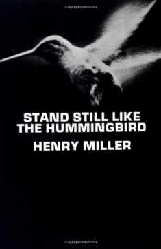 Stand Still Like the Hummingbird (New Directions Paperbook)
