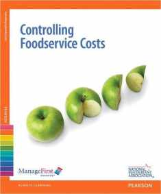Controlling Foodservice Costs with Answer Sheet, ManageFirst Program, 2nd Edition