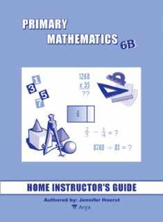 Singapore Primary Mathematics 6B Home Instructor's Guide