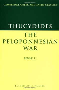 Thucydides: Pelop War Book 2 (Cambridge Greek and Latin Classics)