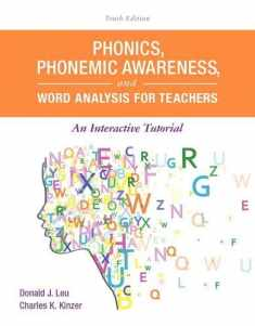 Phonics, Phonemic Awareness, and Word Analysis for Teachers: An Interactive Tutorial (What's New in Literacy)