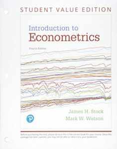 Introduction to Econometrics, Student Value Edition