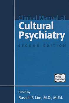 Clinical Manual of Cultural Psychiatry, Second Edition