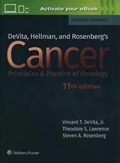 DeVita, Hellman, and Rosenberg's Cancer: Principles & Practice of Oncology (Cancer Principles and Practice of Oncology)