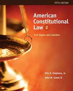 American Constitutional Law: Civil Rights and Liberties, Volume II: 2