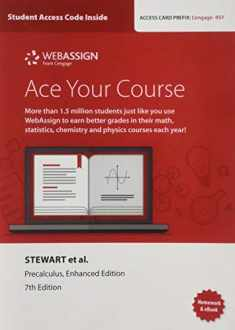 WebAssign Printed Access Card for Stewart/Redlin/Watson's Precalculus, Enhanced Edition, 7th Edition, Single-Term