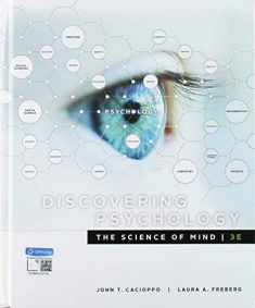 Bundle: Discovering Psychology: The Science of Mind, 3rd + MindTap Psychology, 1 term (6 months) Printed Access Card