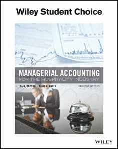 Managerial Accounting for the Hospitality Industry 2e