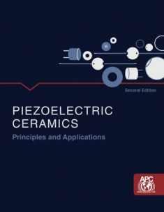 Piezoelectric Ceramics: Principles and Applications