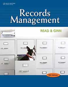 Records Management (Advanced Office Systems & Procedures)