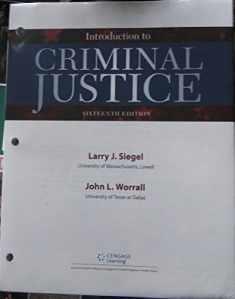 Introduction to Criminal Justice, Loose-Leaf Version