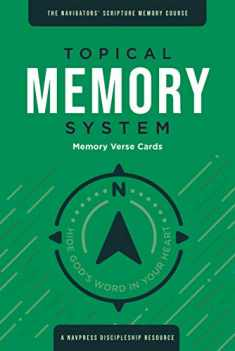 Topical Memory System, Memory Verse Cards: Hide God's Word in Your Heart (The Navigator's Scripture Memory Course)