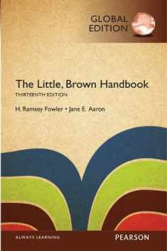 The Little, Brown Handbook, Global Edition [Paperback] [Jan 01, 1997]