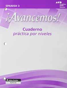 ?Avancemos!: Cuaderno: Practica Por Niveles (Student Workbook) with Review Bookmarks Level 3 (Spanish Edition)
