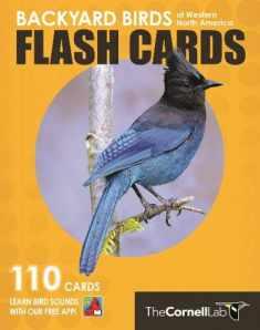 Backyard Birds Flash Cards - Western North America (Cornell Lab of Ornithology)