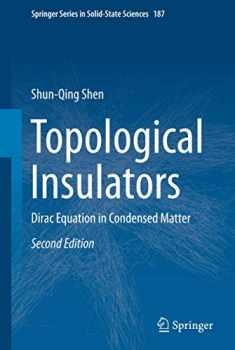 Topological Insulators (Springer Series in Solid-State Sciences, 187)