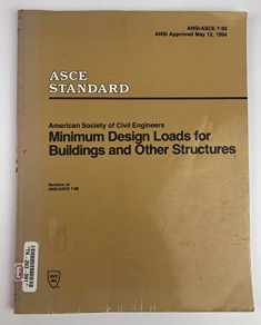 Minimum Design Loads for Buildings and Other Structures/Asce 7-93