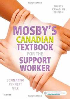 MOSBY'S CANADIAN TEXTBOOK FOR THE SUPPORT WORKER Paperback