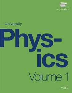 University Physics Volume 1 by OpenStax (paperback version, B&W)