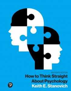 How to Think Straight About Psychology, Books a la Carte (What's New in Psychology)