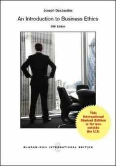 An Introduction to Business Ethics (Int'l Ed)