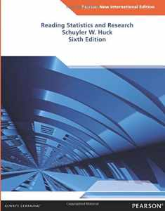 Reading Statistics and Research: Pearson New International E