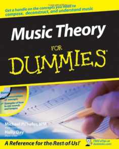 Music Theory For Dummies, with Audio CD-ROM