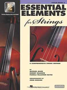 Essential Elements for Strings - Book 2 with EEi: Violin (VIOLON)