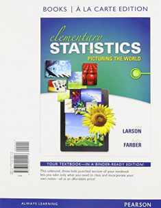 Elementary Statistics: Picturing the World, Books a la Carte Edition