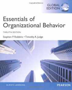 Essentials of Organizational Behavior, Global Edition [Mar 07, 2013] Judge, Timothy A. and Robbins, Stephen P.