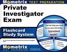 Private Investigator Exam Flashcard Study System: PI Test Practice Questions & Review for the Private Investigator Exam (Cards)