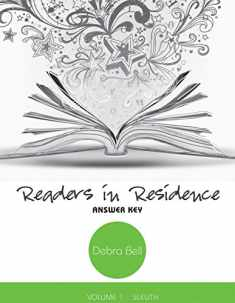 Readers in Residence, vol. 1 - Sleuth - Answer Key and Teaching Notes