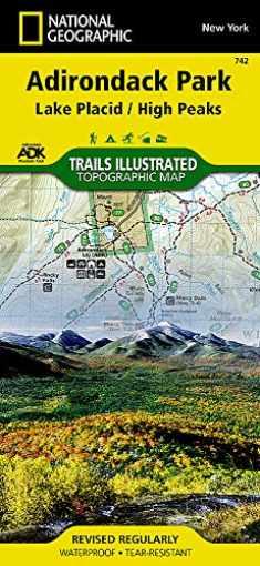 Lake Placid, High Peaks: Adirondack Park (National Geographic Trails Illustrated Map, 742)