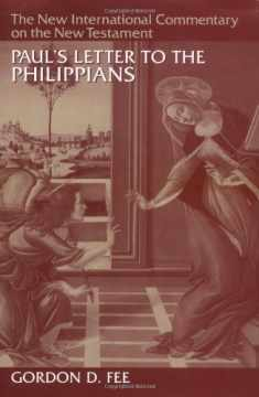 Paul's Letter to the Philippians (New International Commentary on the New Testament)
