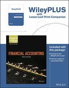 Financial Accounting, 10e WileyPLUS Registration Card + Loose-leaf Print Companion