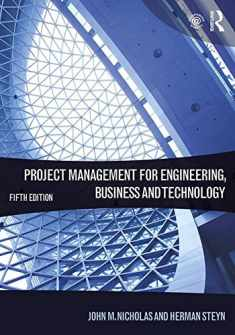 Project Management for Engineering,Business and Technology