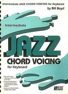Intermediate Jazz Chord Voicing for Keyboard