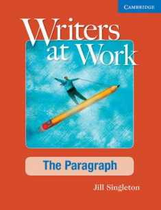Writers at Work The Paragraph Student's Book and Writing Skills Interactive Pack