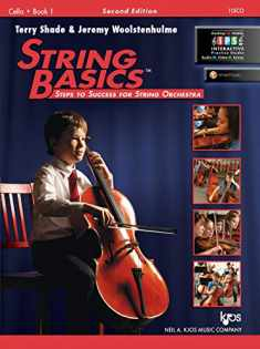 115CO - String Basics: Steps to Success for String Orchestra Cello Book 1