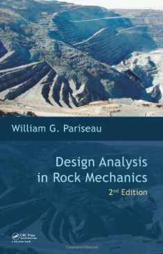 Design Analysis in Rock Mechanics, Second Edition