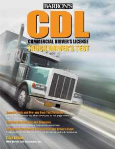Barron's CDL Commercial Driver's Test: Truck Driver's Test (Barron's Cdl Truck Driver's Test)