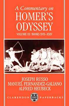 A Commentary on Homer's Odyssey, Vol. 3: Books 17-24