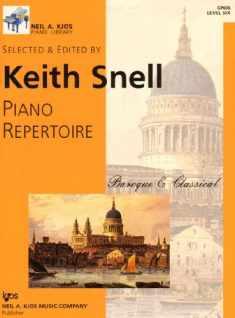 GP606 - Piano Repertoire: Baroque & Classical Level Six