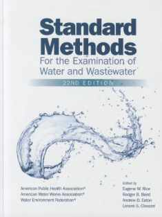 Standard Methods for the Examination of Water and Wastewater, 22nd Edition