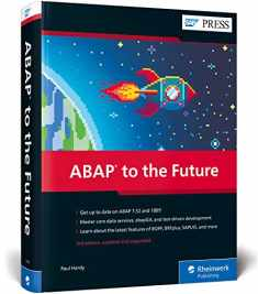 ABAP to the Future: Advanced, Modern ABAP (Third Edition) (SAP PRESS)