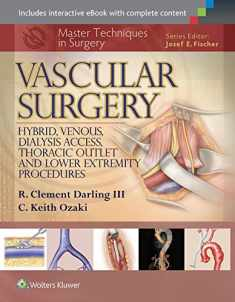 Master Techniques in Surgery: Vascular Surgery: Hybrid, Venous, Dialysis Access, Thoracic Outlet, and Lower Extremity Procedures